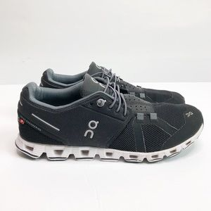 On Cloud Running Shoes Black Size 7.5